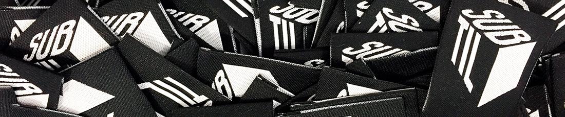 Etiquetas em tecido